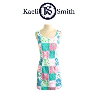 Kaeli Smith Sheath Sleeveless Patchwork Size 2